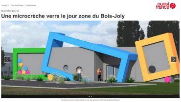 Une microcrèche verra le jour Zone du Bois Joly